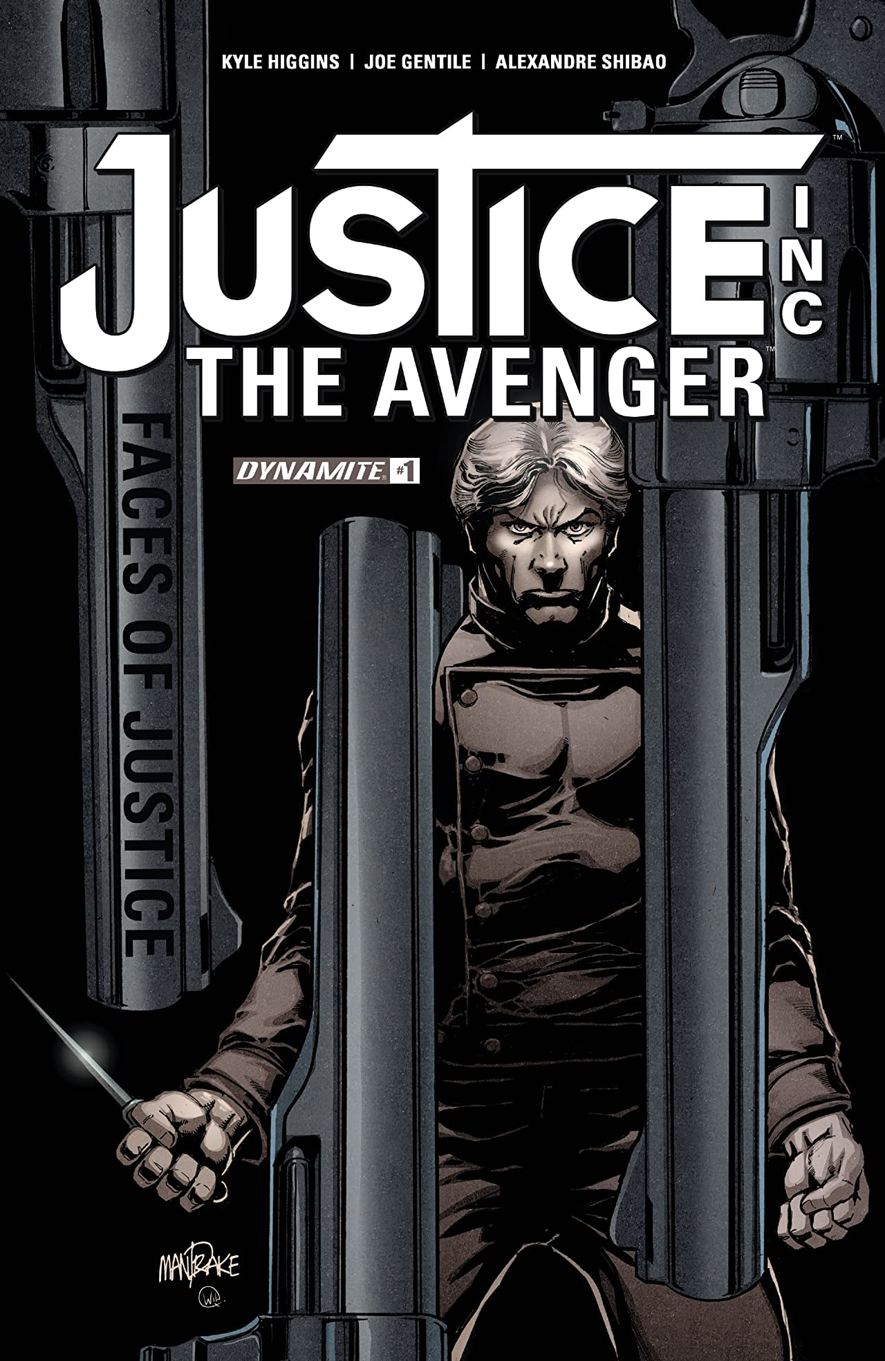 Justice Inc: The Avenger - Faces Of Justice #1