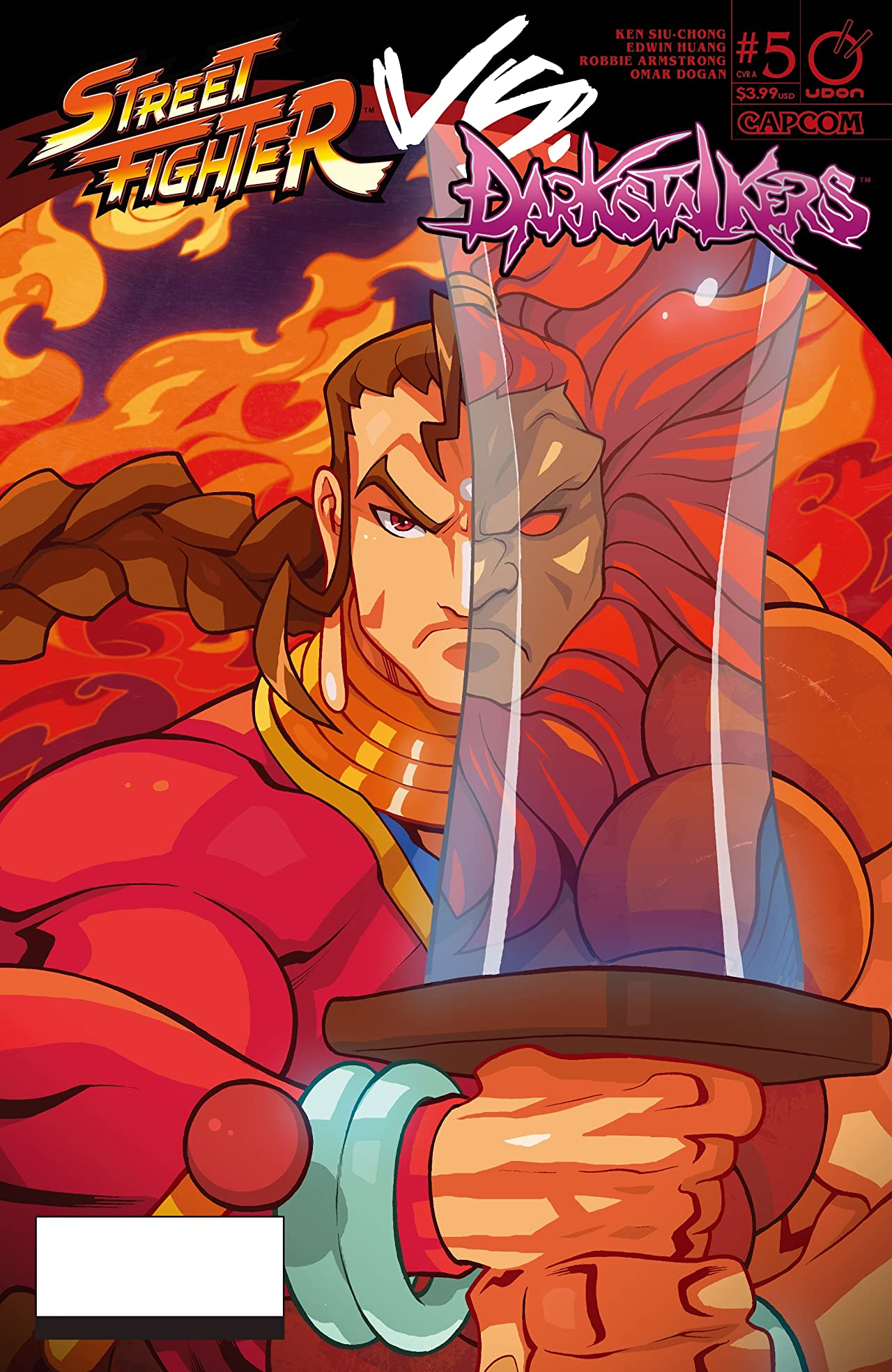 Street Fighter VS Darkstalkers #5 (of 8)