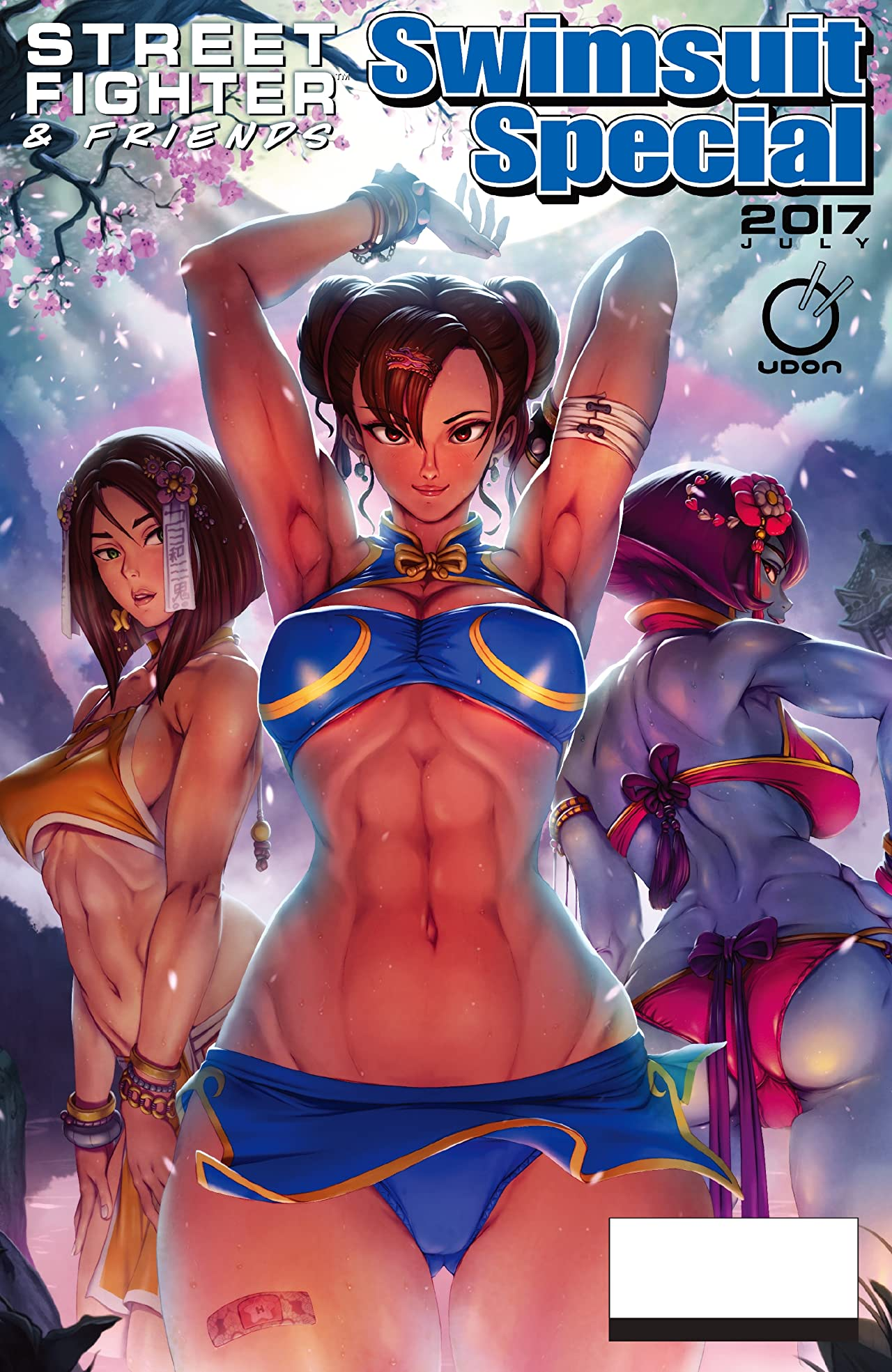 Street Fighter & Friends: Swimsuit Special 2017