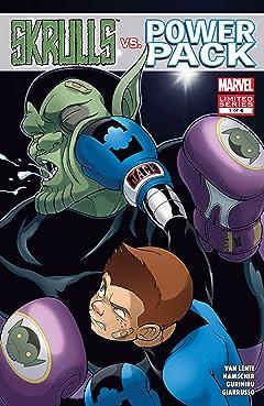 Skrulls vs. Power Pack (2008) #1 (of 4)