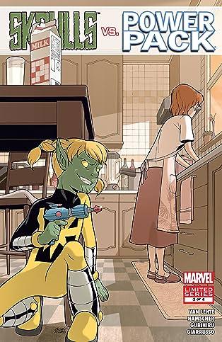 Skrulls vs. Power Pack (2008) #3 (of 4)