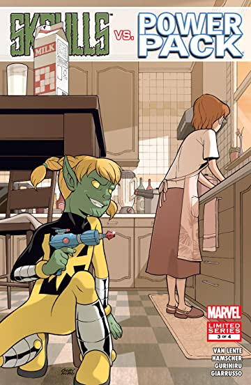 Skrulls vs. Power Pack (2008) #3 (of 4)