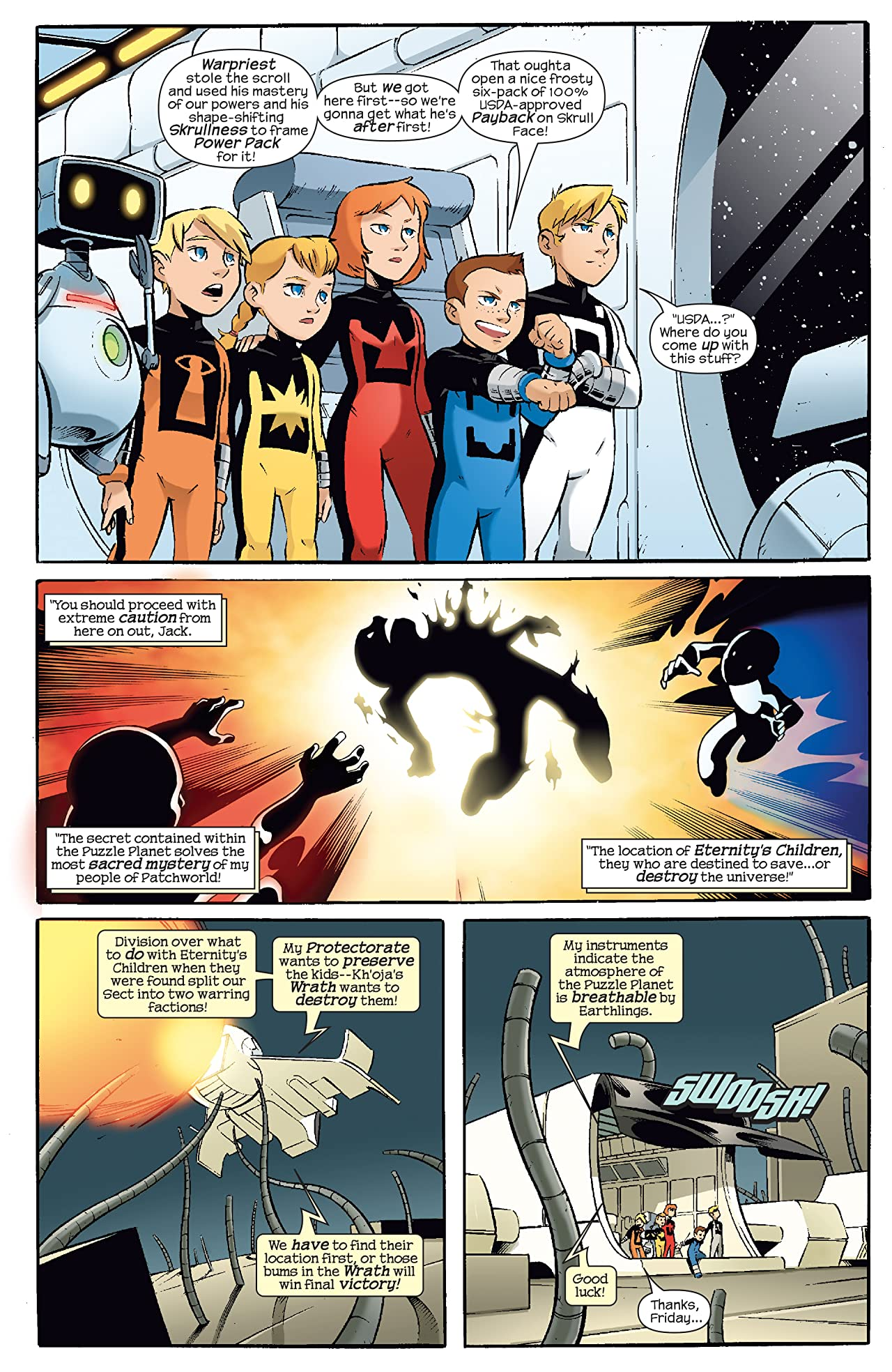 Skrulls vs. Power Pack (2008) #4 (of 4)