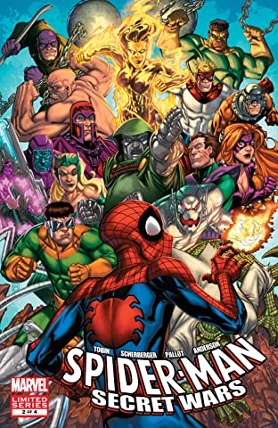 Spider-Man & The Secret Wars (2009-2010) #2 (of 4)