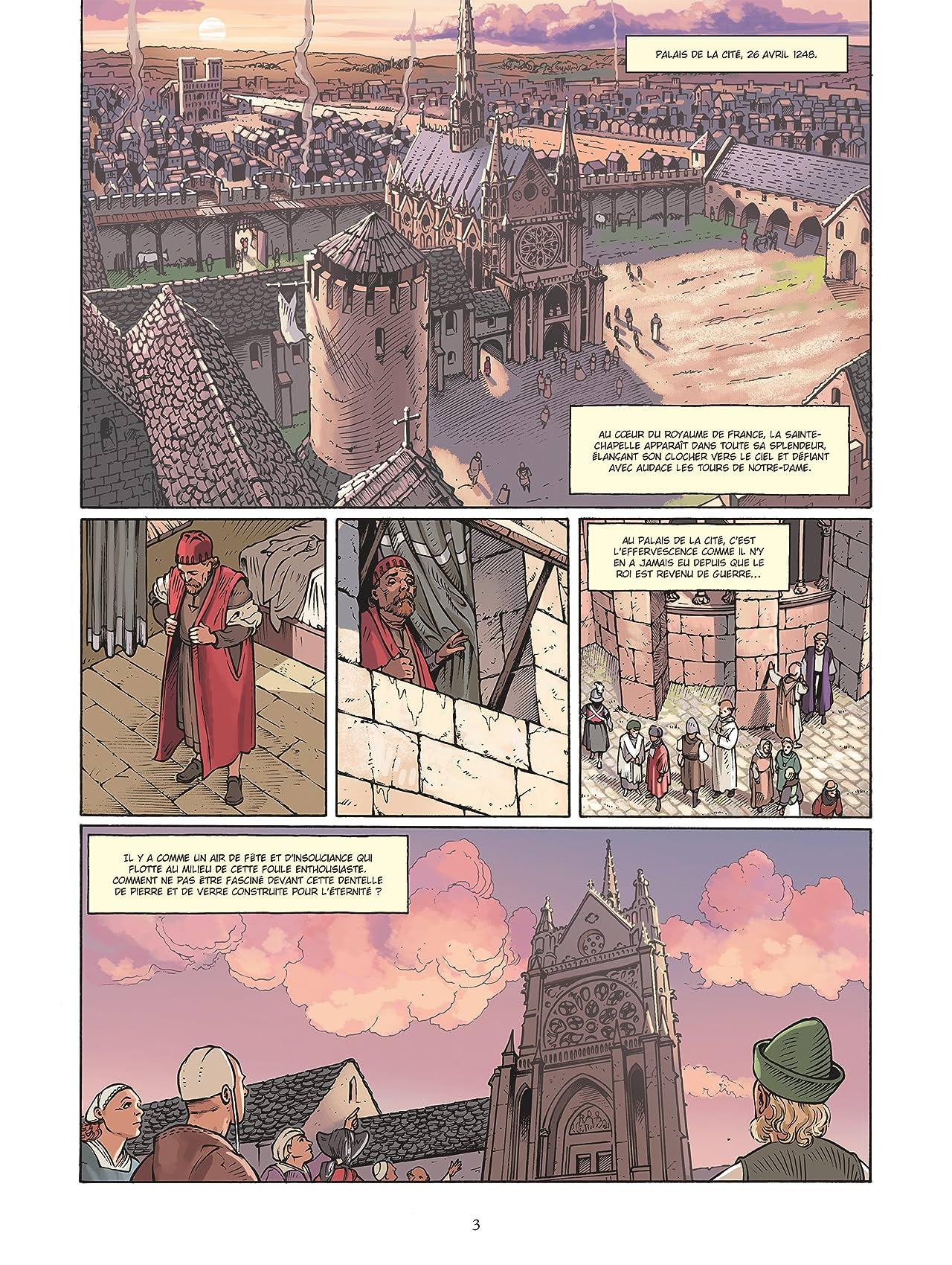 L'Architecte du palais: Le Mystère de la Sainte-Chapelle