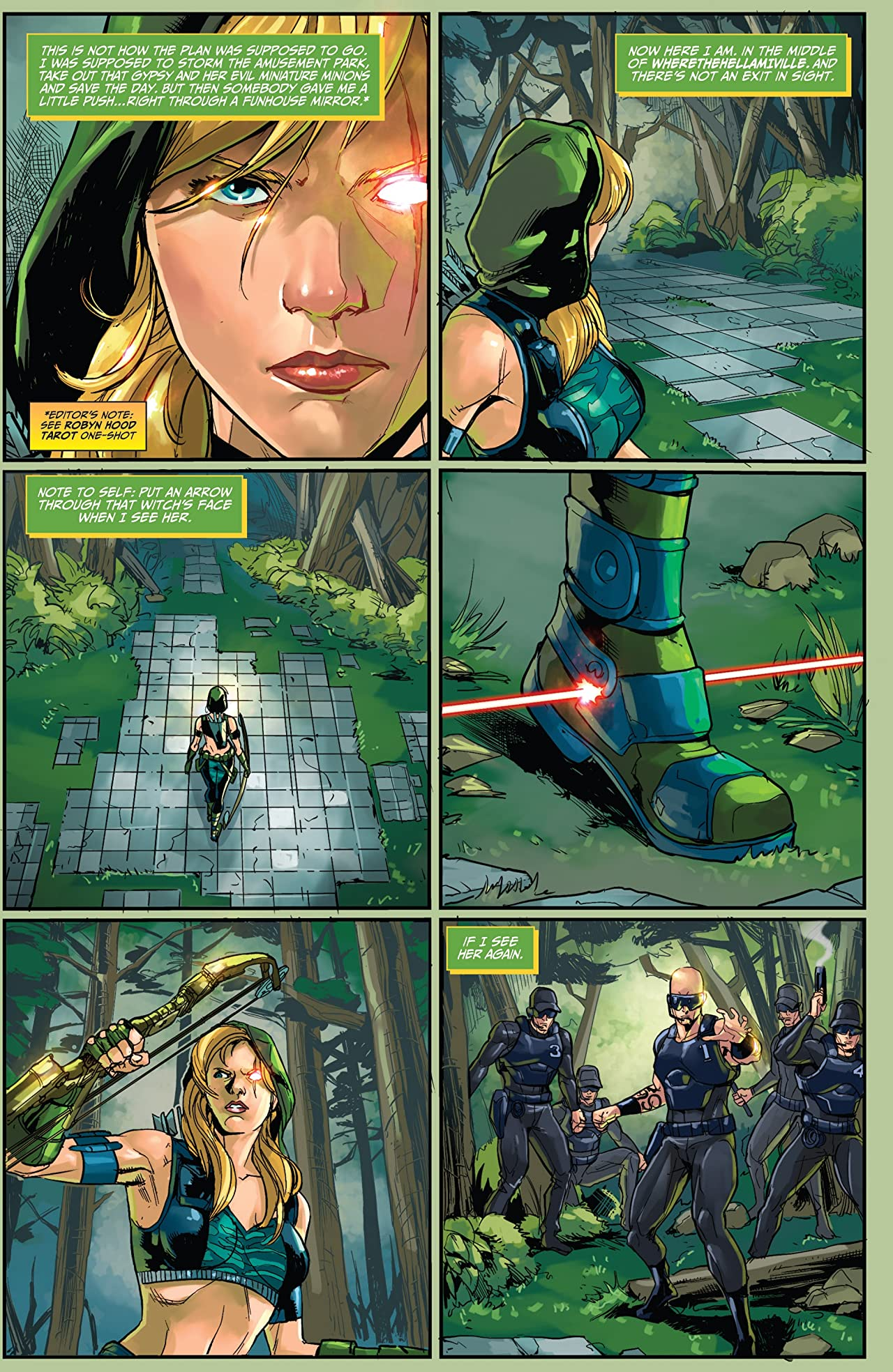 Robyn Hood: The Hunt #1