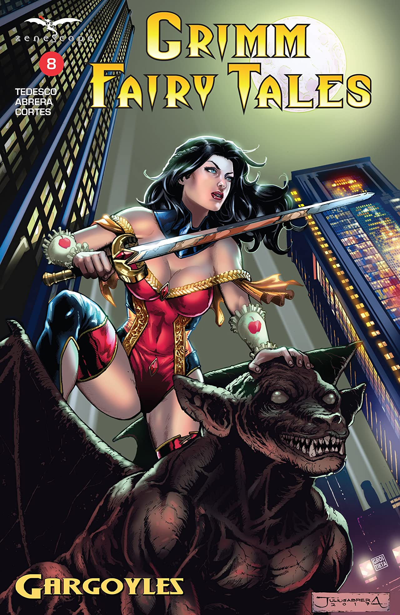 Grimm Fairy Tales (2016-) #8