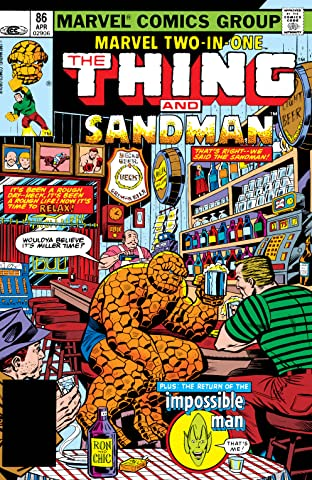 Marvel Two-In-One (1974-1983) #86