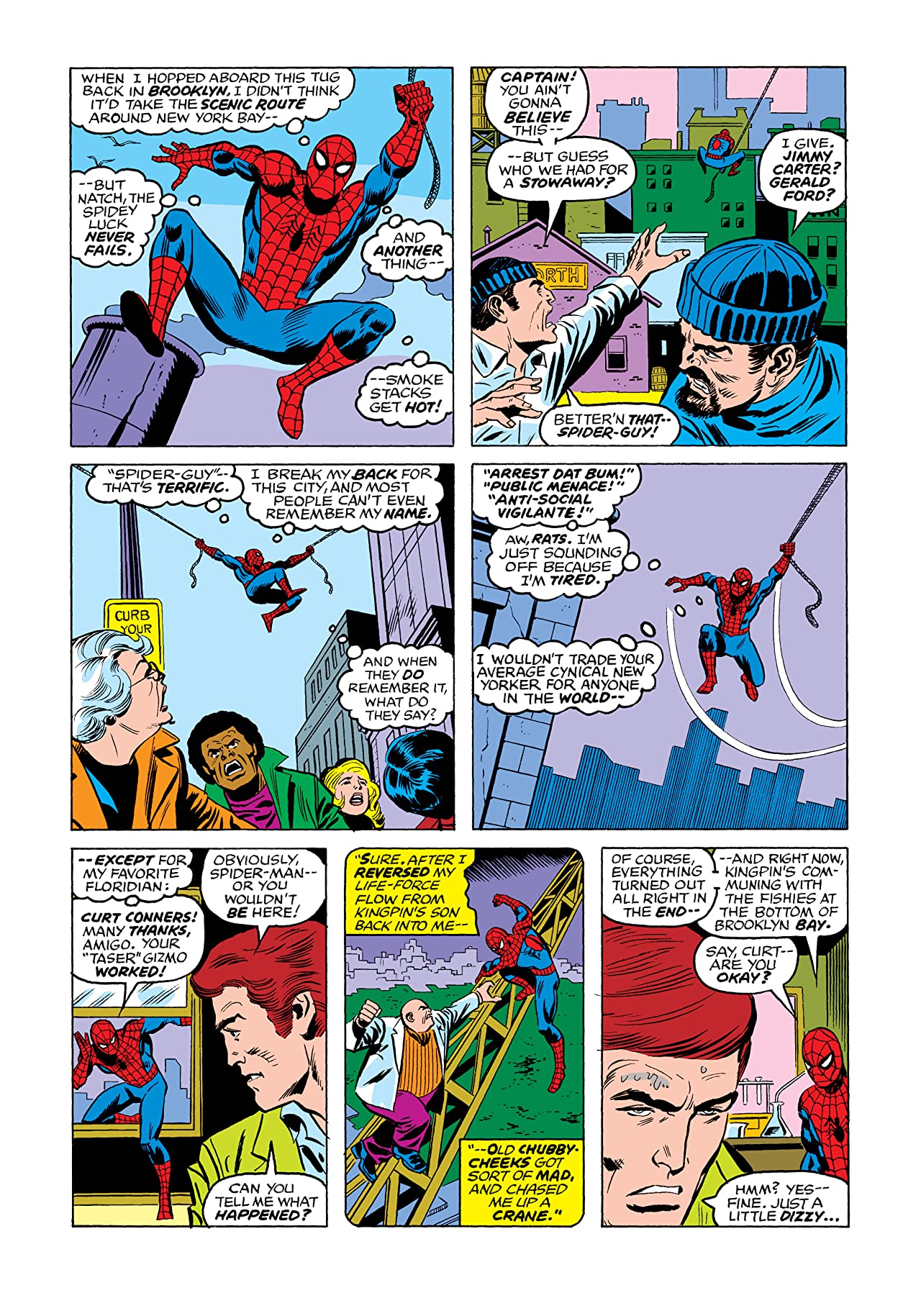 Peter Parker, The Spectacular Spider-Man (1976-1998) #2