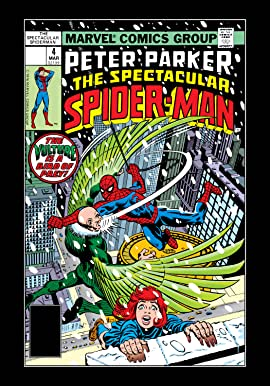 Peter Parker, The Spectacular Spider-Man (1976-1998) #4