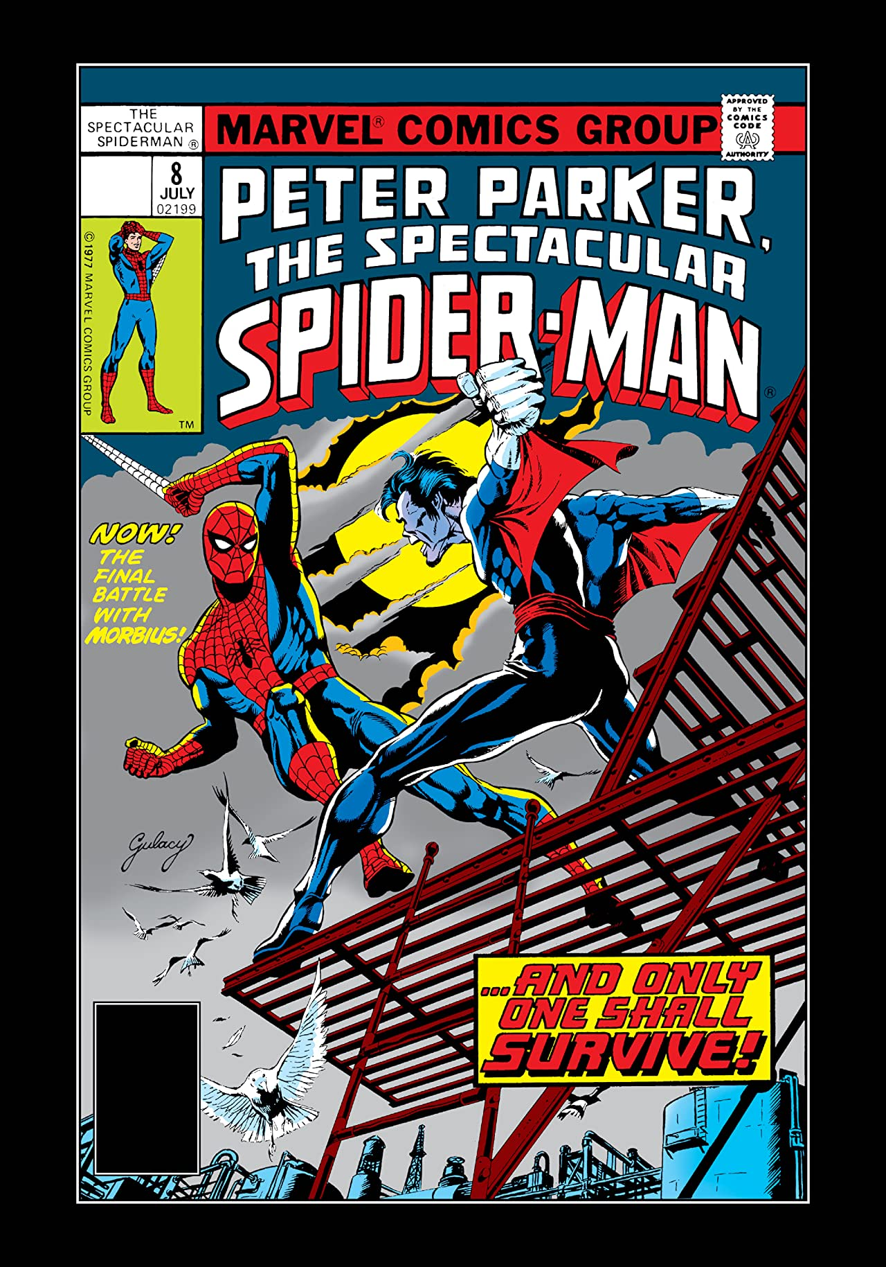 Peter Parker, The Spectacular Spider-Man (1976-1998) #8