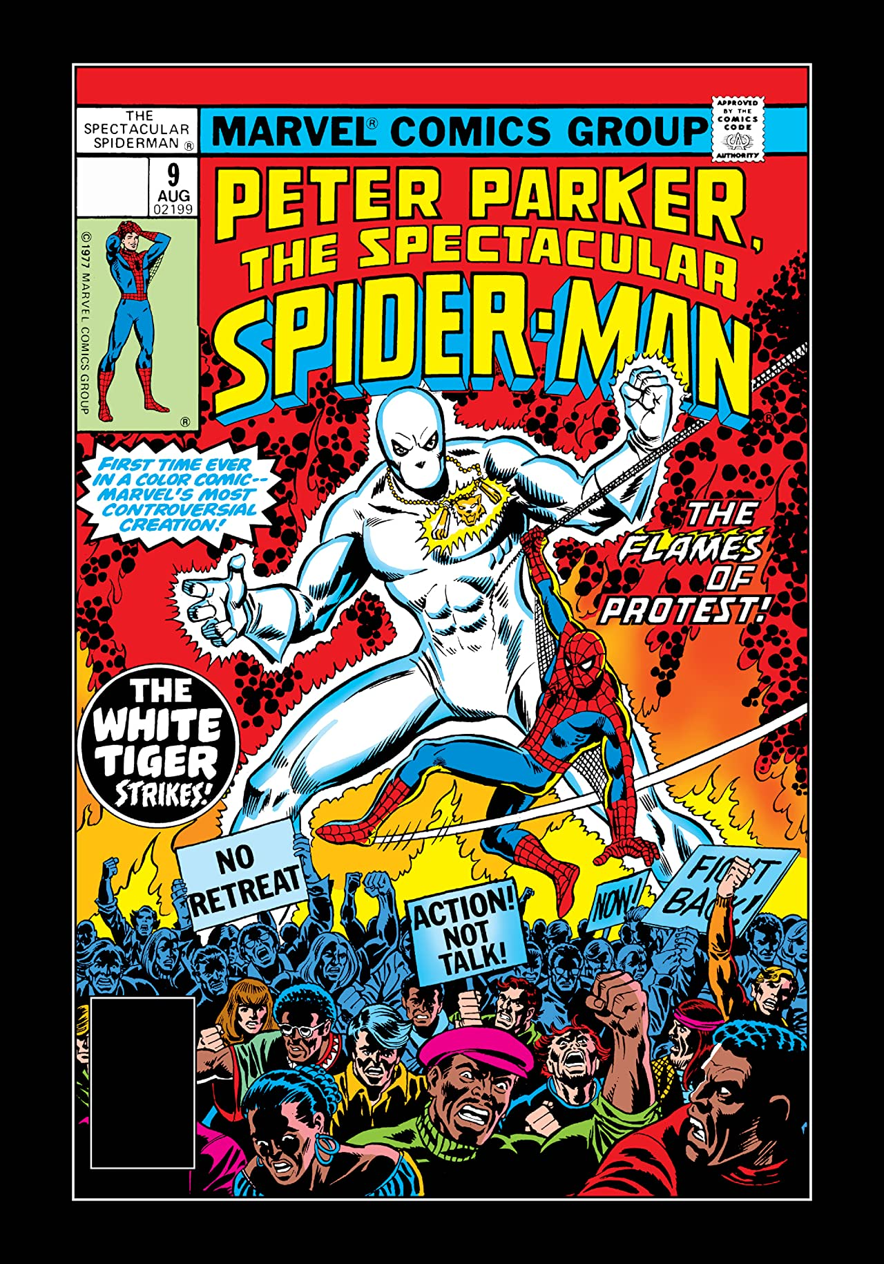 Peter Parker, The Spectacular Spider-Man (1976-1998) #9