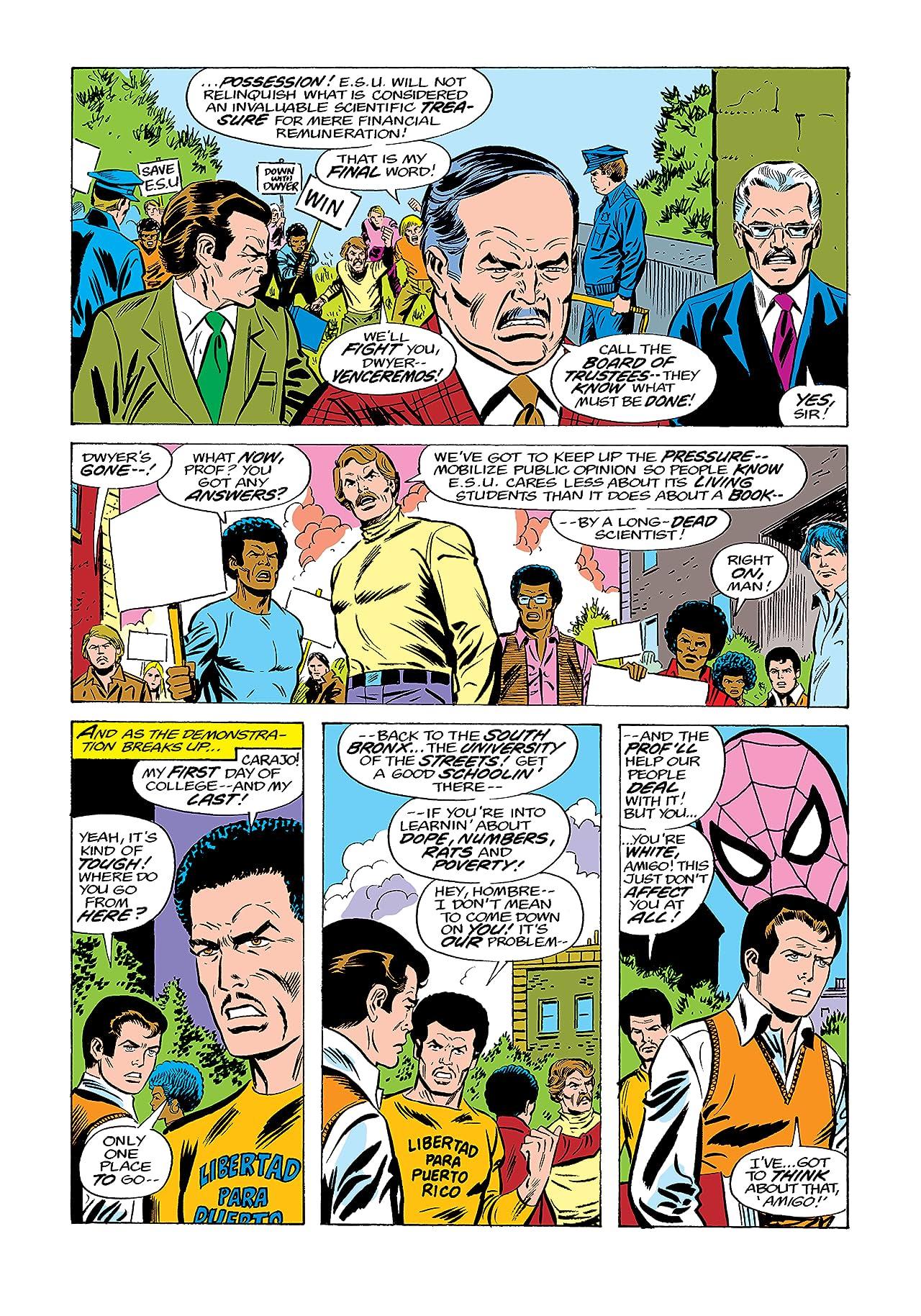 Peter Parker, The Spectacular Spider-Man (1976-1998) #9