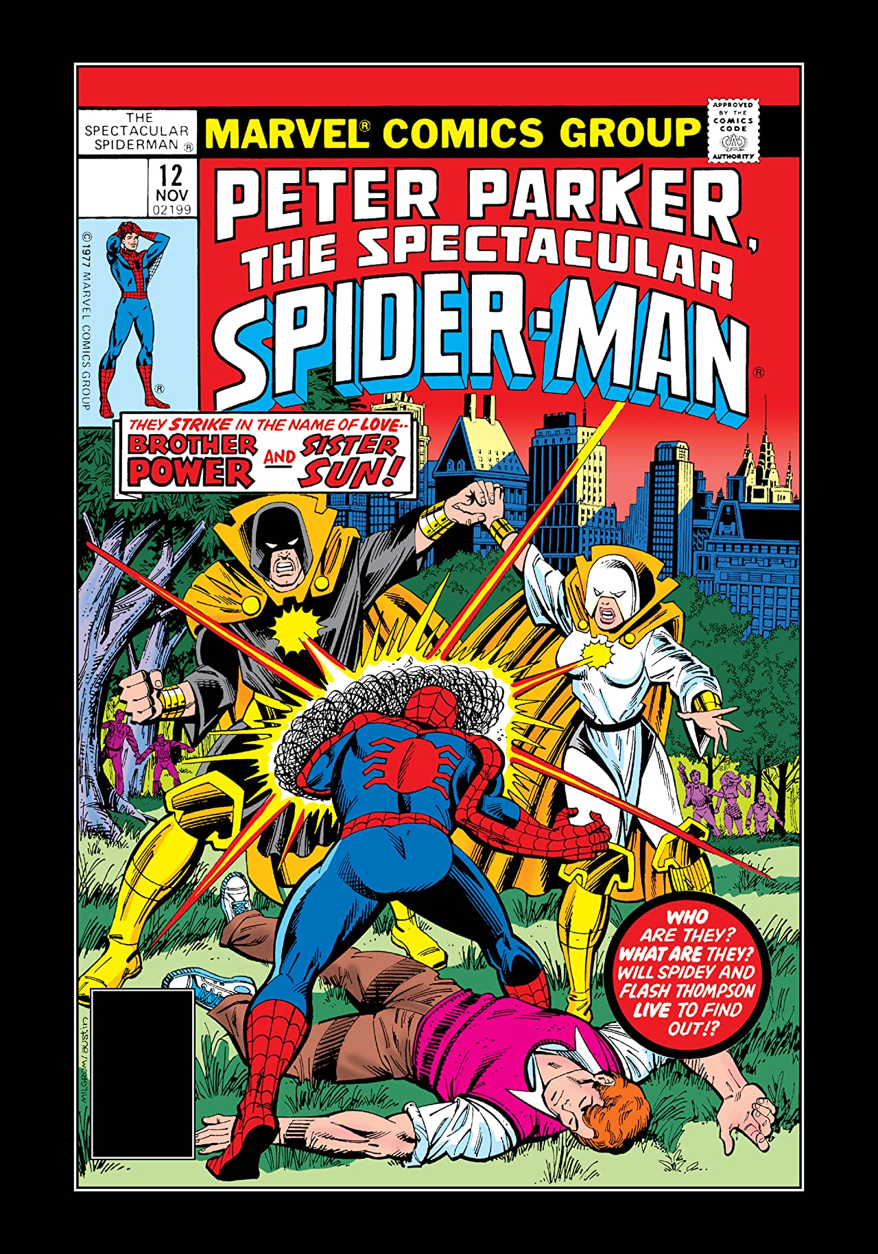 Peter Parker, The Spectacular Spider-Man (1976-1998) #12