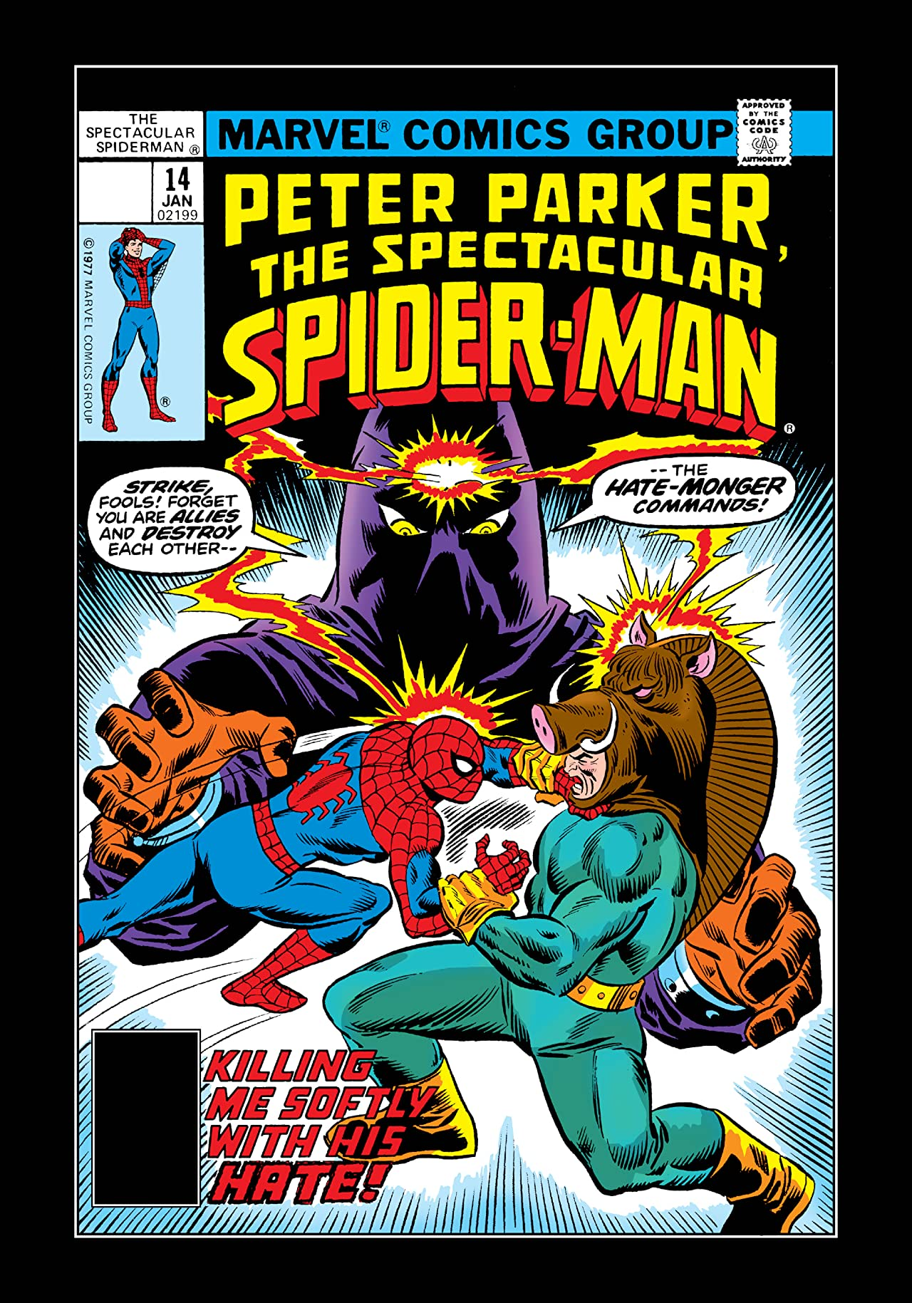 Peter Parker, The Spectacular Spider-Man (1976-1998) #14