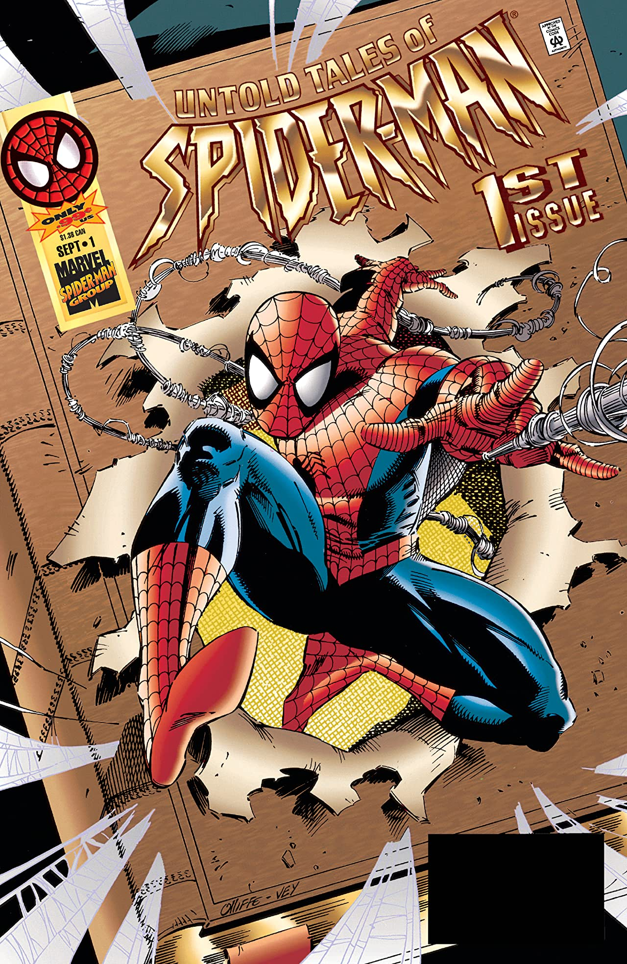 Untold Tales of Spider-Man (1995-1997) #1
