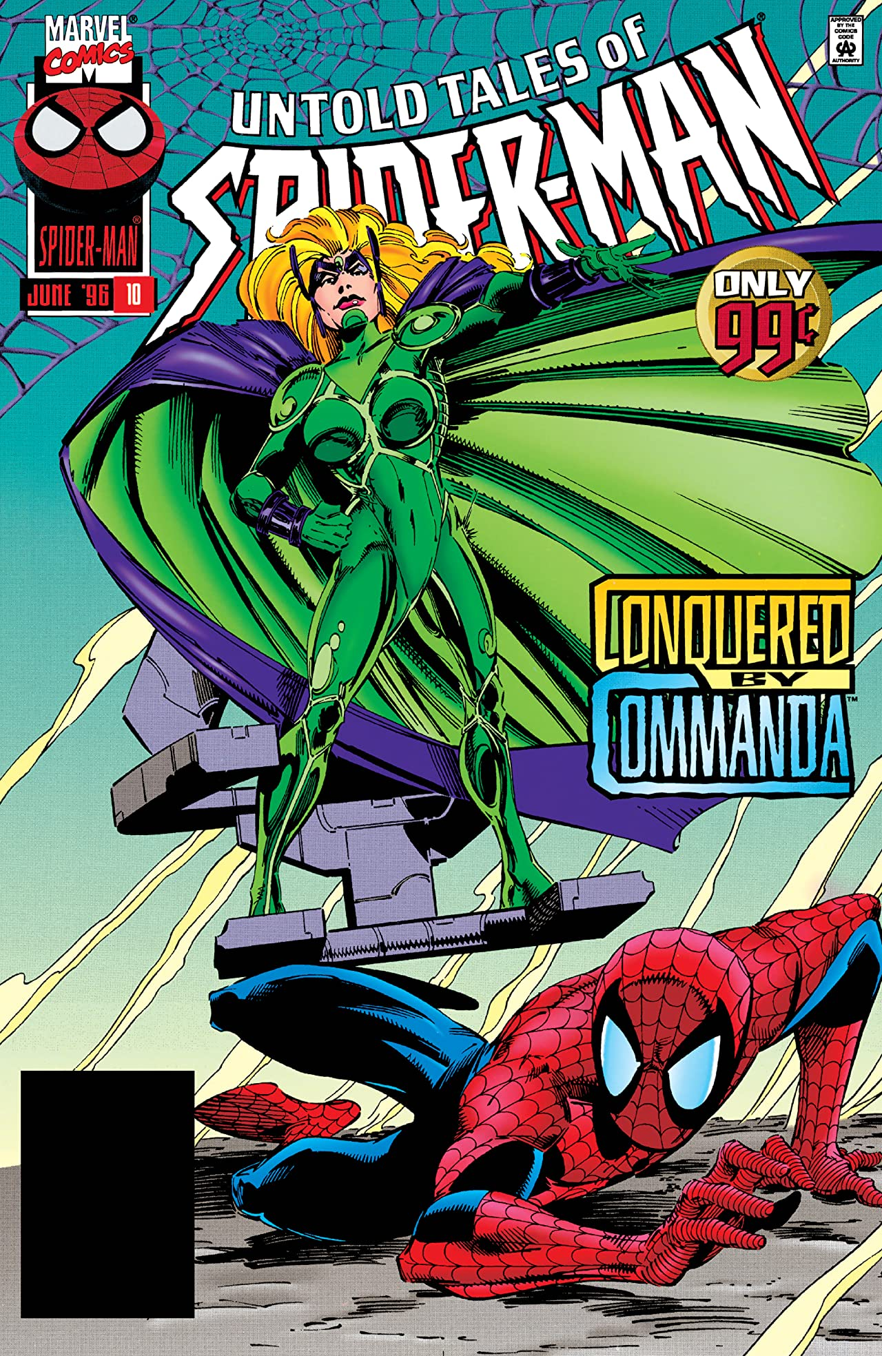 Untold Tales of Spider-Man (1995-1997) #10
