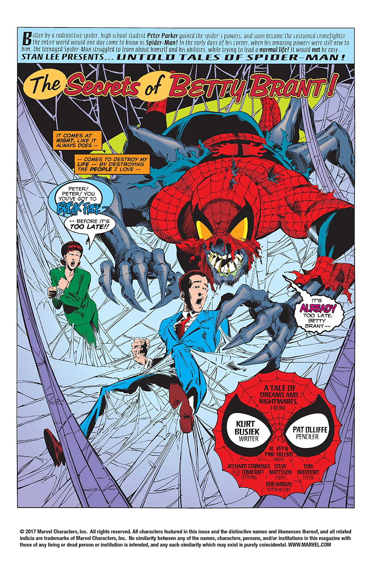 Untold Tales of Spider-Man (1995-1997) #12