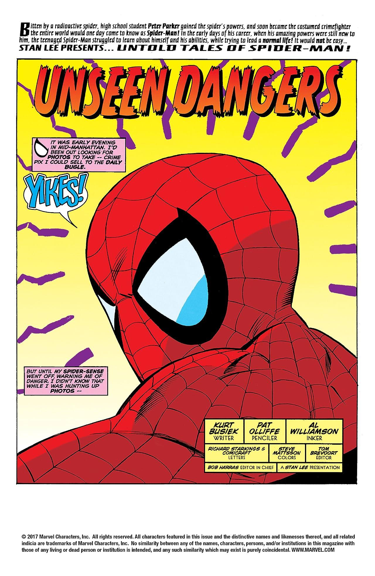 Untold Tales of Spider-Man (1995-1997) #18