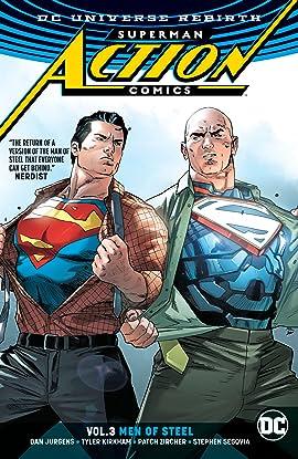 Superman - Action Comics (2016-) Tome 3: Men of Steel