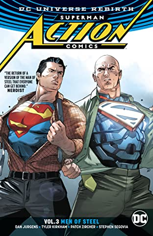 Superman - Action Comics (2016-) Tome 3: Men of Steel