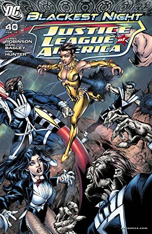 Justice League of America (2006-2011) #40