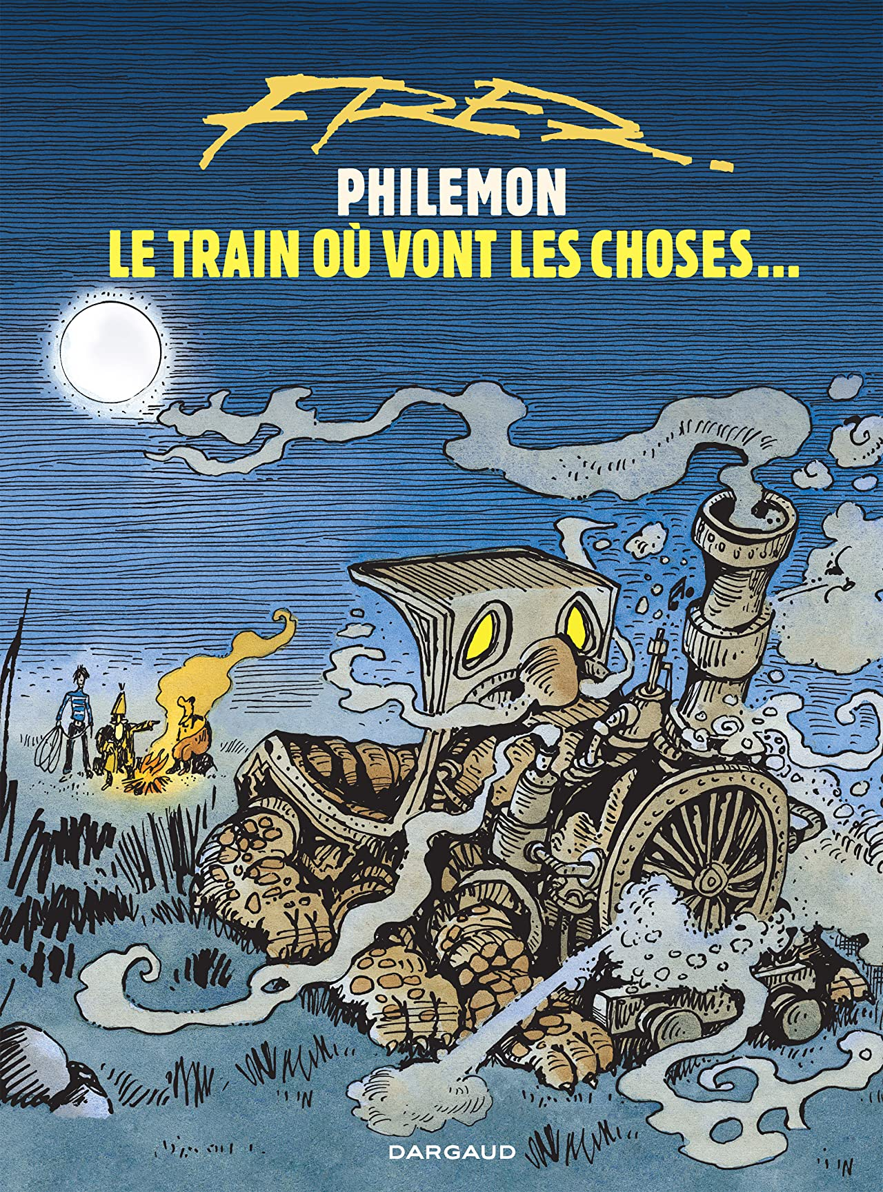Philémon Vol. 16: Le train où vont les choses…