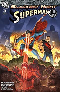 Blackest Night: Superman No.3 (sur 3)