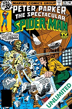 Peter Parker, The Spectacular Spider-Man (1976-1998) #28