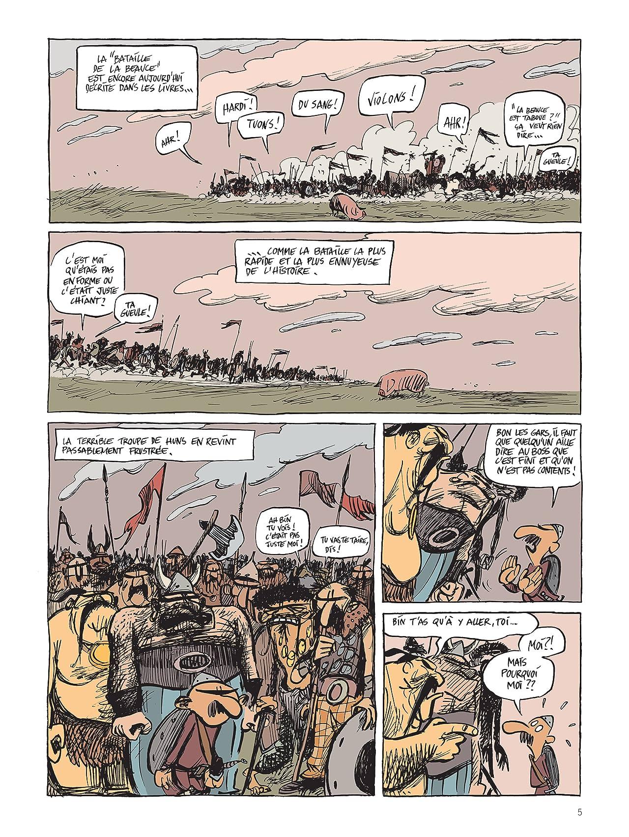 Une aventure rocambolesque de ... Vol. 3: Attila -  Le fléau de Dieu