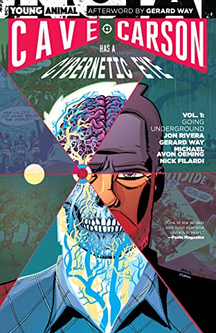 Cave Carson Has a Cybernetic Eye (2016-2017) Vol. 1: Going Underground