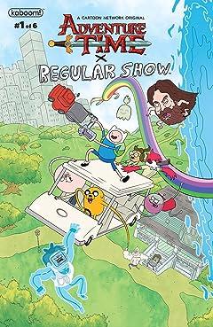 Adventure Time/Regular Show #1