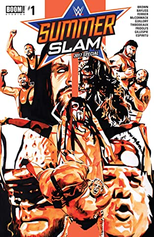 WWE Summer Slam 2017 No.1