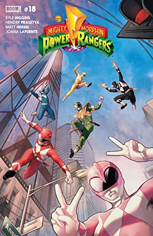 Mighty Morphin Power Rangers No.18