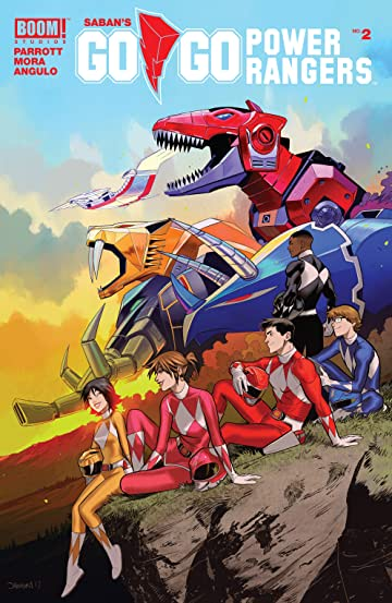 Saban's Go Go Power Rangers #2