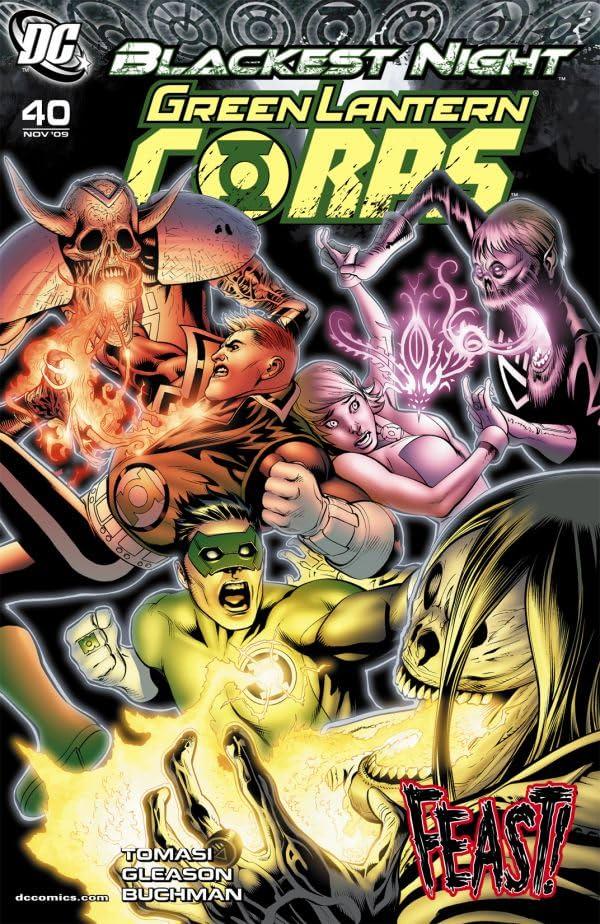 Green Lantern Corps (2006-2011) #40