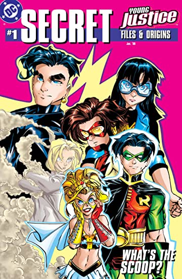 Young Justice Secret Files (1998) #1