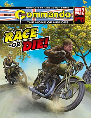 Commando #5031: Race-Or Die!
