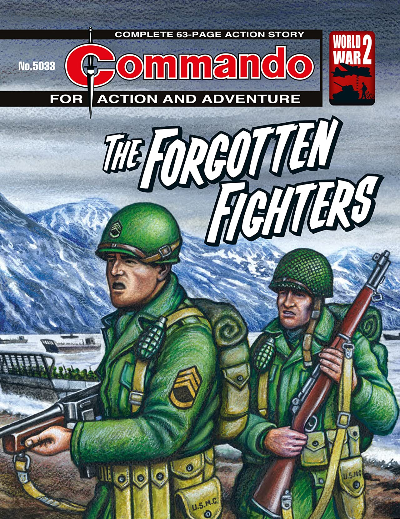 Commando #5033: The Forgotten Fighters