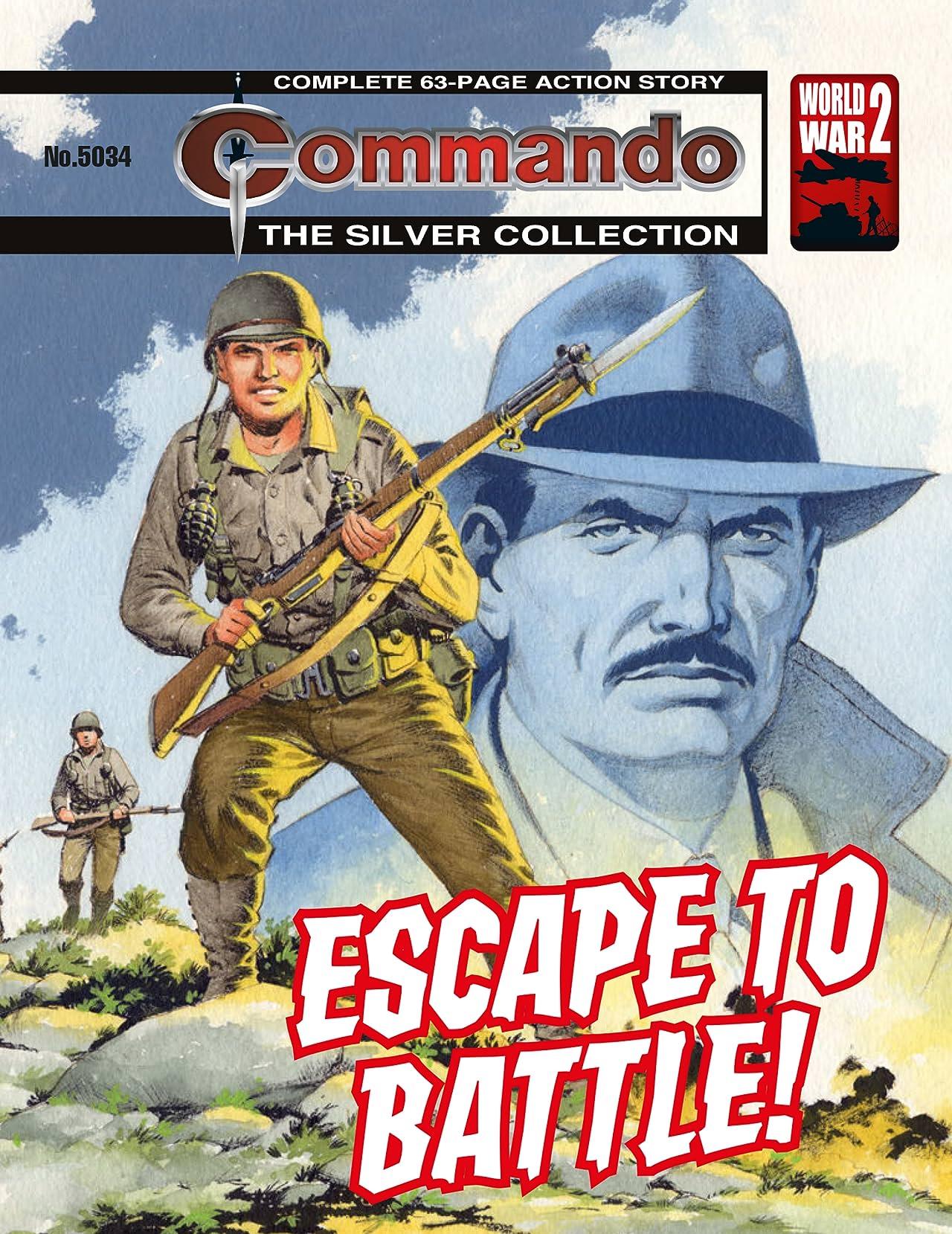 Commando #5034: Escape To Battle