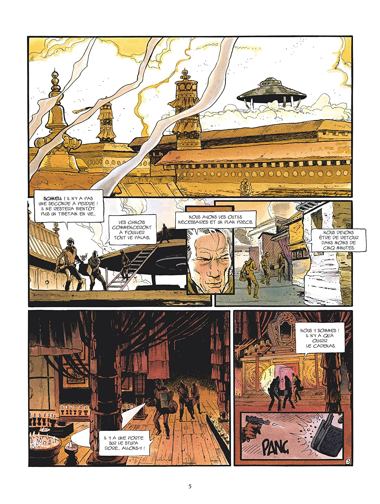 La légende du lama blanc Vol. 3: Le Royaume sous la terre