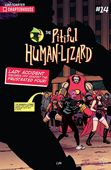 Pitiful Human-Lizard #14