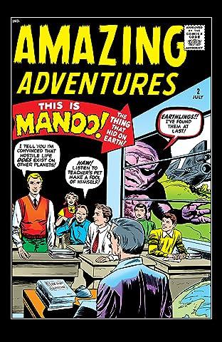 Amazing Adventures (1961) #2