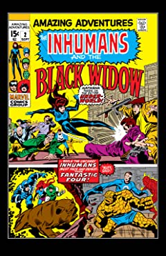 Amazing Adventures (1970-1976) #2