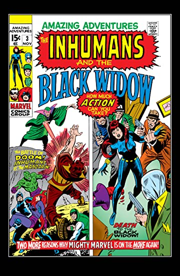 Amazing Adventures (1970-1976) #3