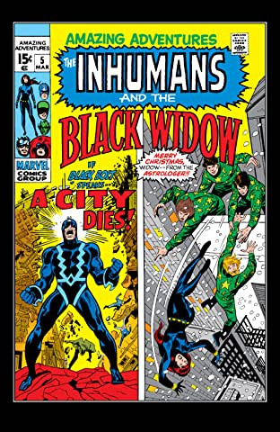 Amazing Adventures (1970-1976) #5