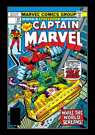 Captain Marvel (1968-1979) #52