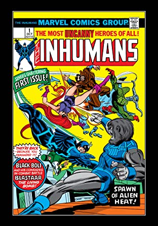 Inhumans (1975-1977) No.1