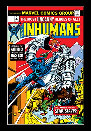 Inhumans (1975-1977) No.2