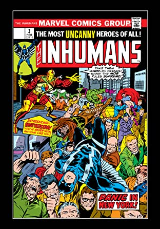 Inhumans (1975-1977) No.3
